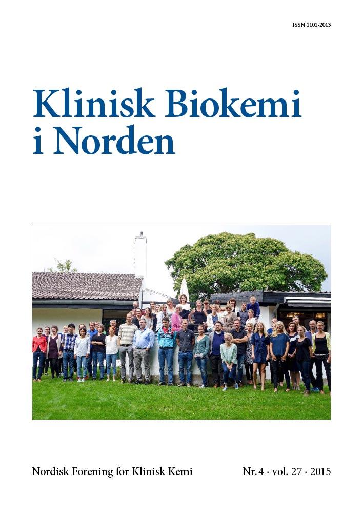 Klinisk Biokemi i Norden – Nr. 4, vol. 27, 2015