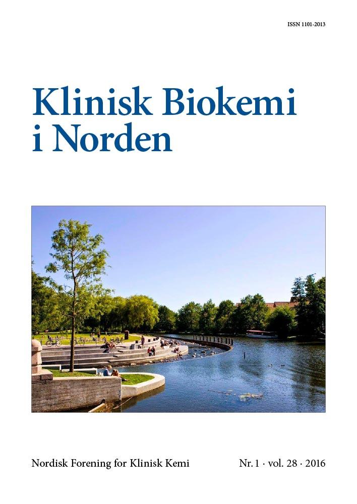 Klinisk Biokemi i Norden – Nr. 1, vol. 28, 2016