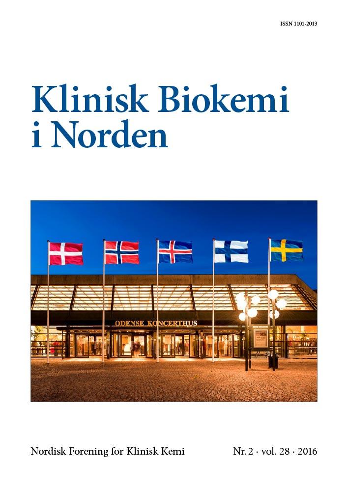 Klinisk Biokemi i Norden – Nr. 2, vol. 28, 2016
