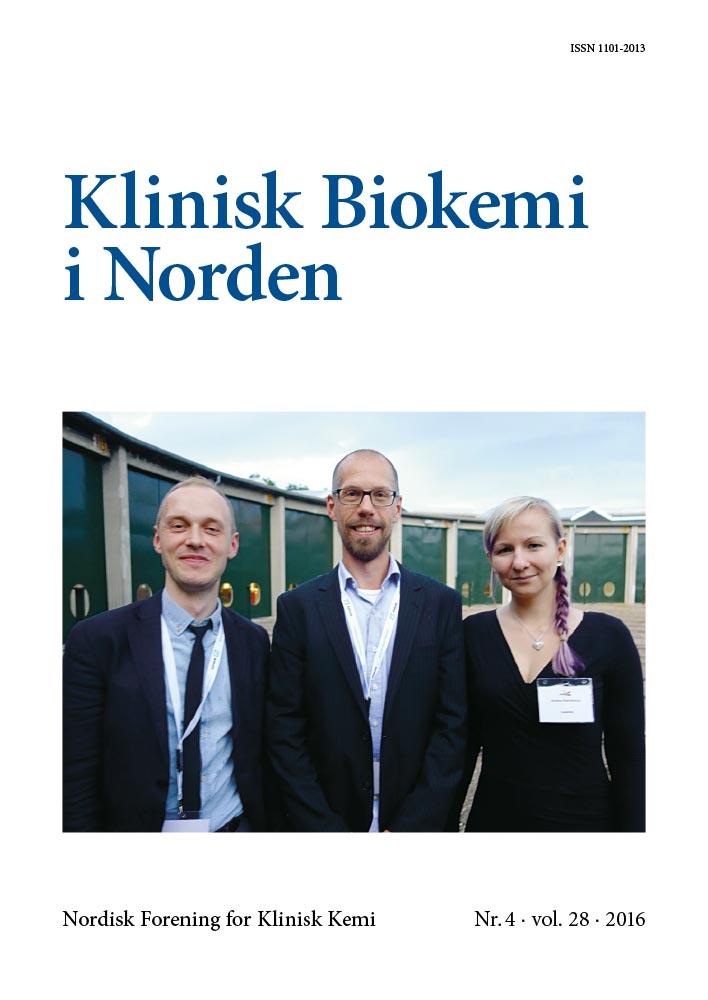 Klinisk Biokemi i Norden – Nr. 4, vol. 28, 2016