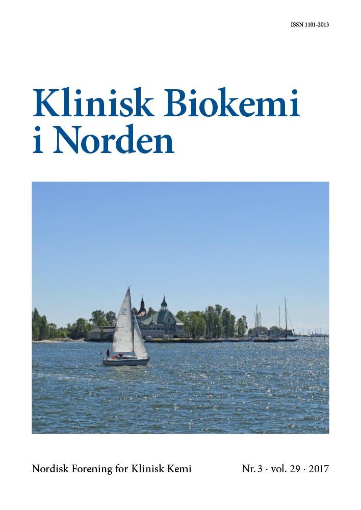 Klinisk Biokemi i Norden – Nr. 3, vol. 29, 2017