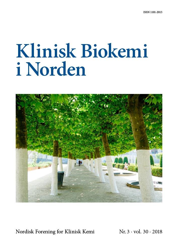 Klinisk Biokemi i Norden – Nr. 3, vol. 30, 2018