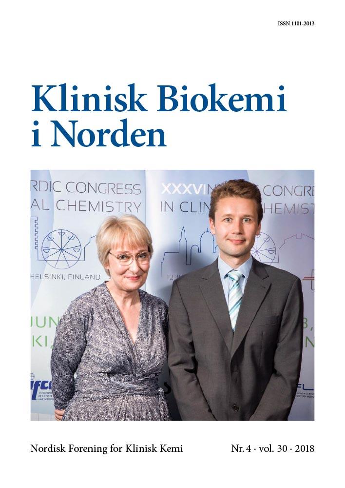 Klinisk Biokemi i Norden – Nr. 4, vol. 30, 2018