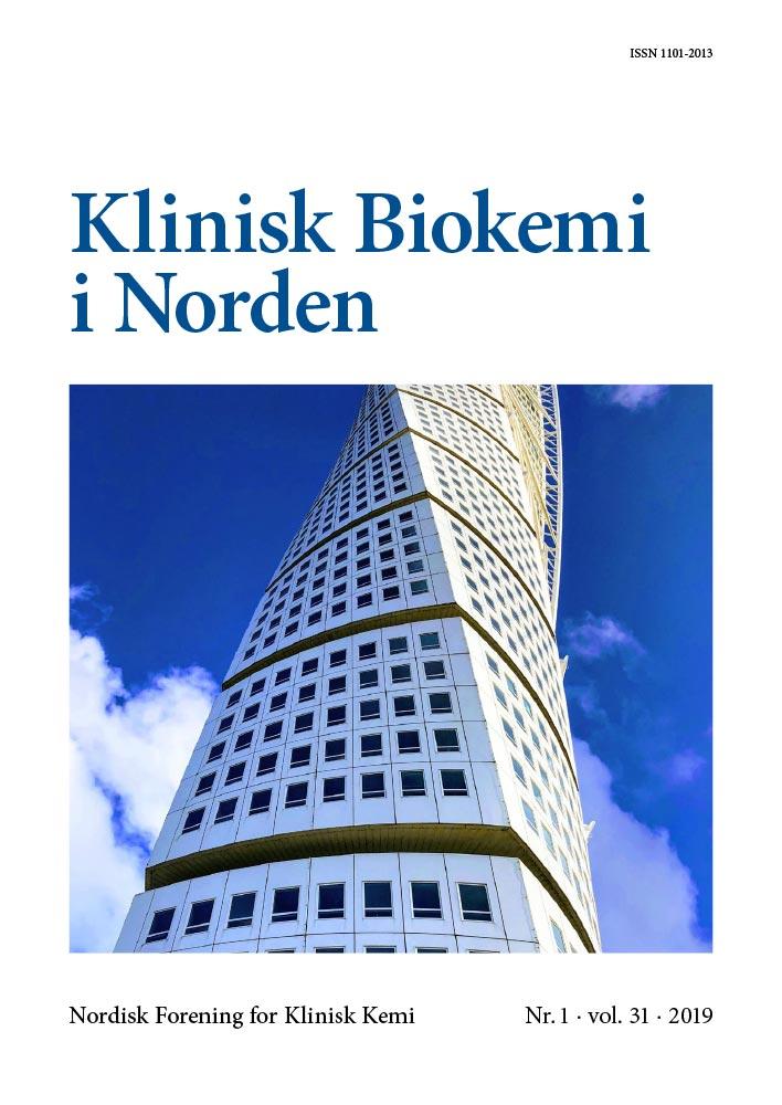 Klinisk Biokemi i Norden – Nr. 1, vol. 31, 2019