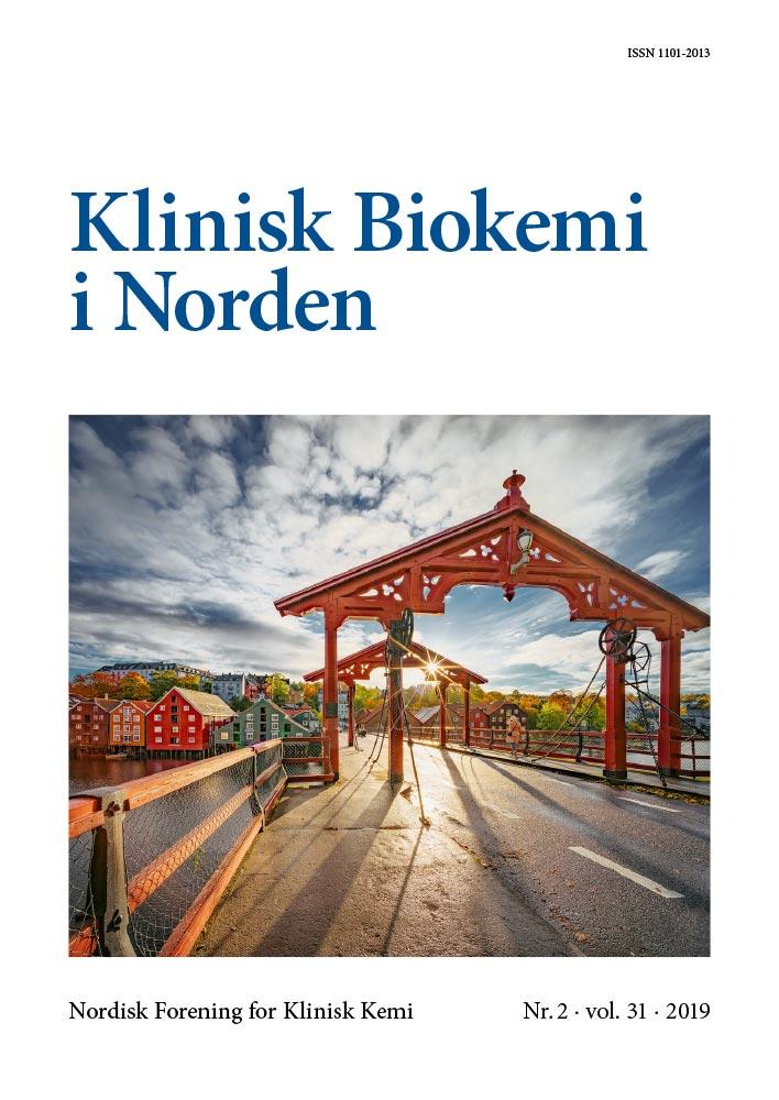 Klinisk Biokemi i Norden – Nr. 2, vol. 31, 2019