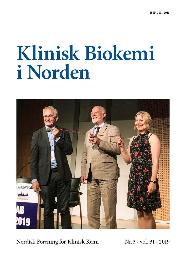 Klinisk Biokemi i Norden – Nr. 3, vol. 31, 2019