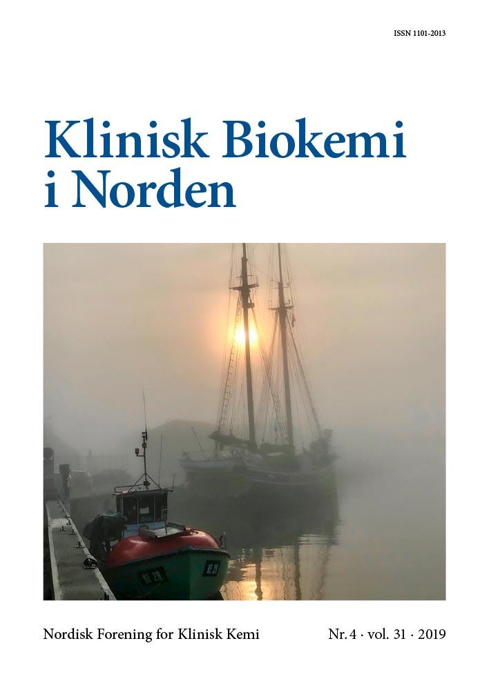 Klinisk Biokemi i Norden – Nr. 4, vol. 31, 2019