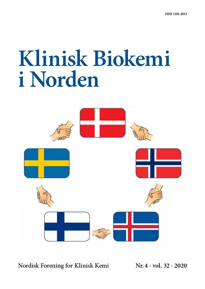 Klinisk Biokemi i Norden - Nr. 4, vol. 32, 2020